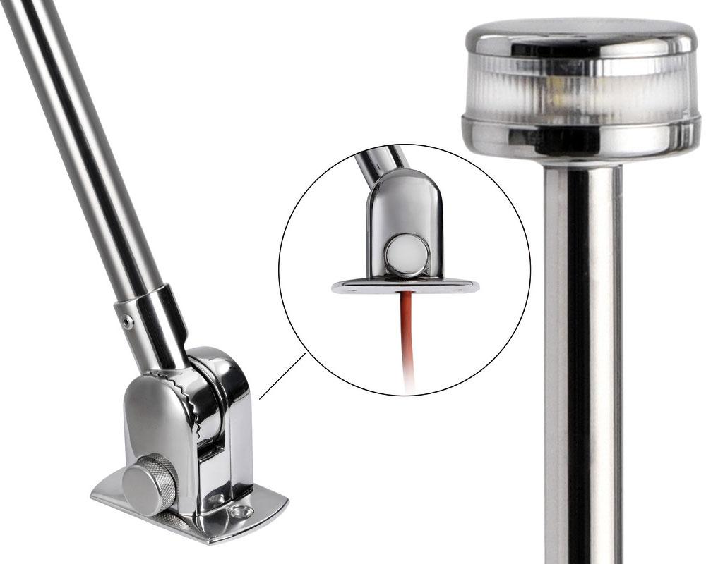 OS1103951-938465-Folding-pole-with-Evoled-360-LED-light-Stainless-steel-body-O