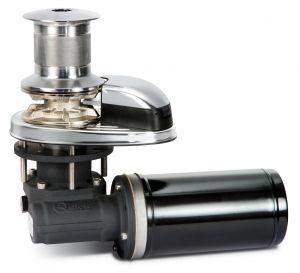 Quick Salpaancora Serie Prince DP1 312D 300W 12V con Campana per Catena 6mm #QDP1312D
