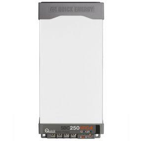 Quick Battery Charger SBC NRG+ Mini 250FR 25A 12V 3 Outputs 114x252x71mm #QSBC250NRG