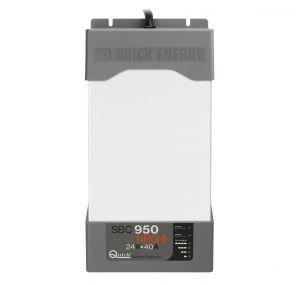 Quick Battery Charger SBC NRG+ Medium 950 FR 40A/24V 3 Outputs 243x479x116mm #QSBC950NRG