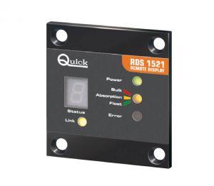 Quick Pannello Remoto RDS 1521 8/30VDC per SBC NRG - D.60x65x20mm #QRDS1521