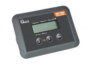 Quick Pannello Remoto RDS 1560 8/31VDC per SBC NRG - D.131x78x20mm #QRDS1560