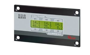 Quick remote display RDS 1530 8/30VDC for Battery Chargers - D.120x65x38mm #QRDS1530