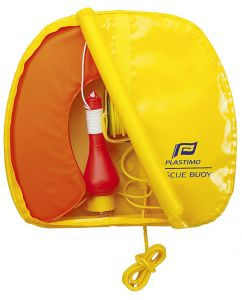 Yellow Rescue Life Buoy with Light #FNIP27023