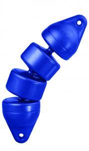 Blue articulated Rib Fender Ø 12X48cm #N10502804200