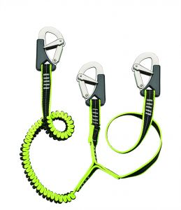 Plastimo double safety tether with three Safety Hooks 1.5mt #FNIP66865