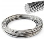 Stainless steel 19-strand wire rope 10mm Spool 100mt #OS0317110