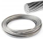 Cavo 19 fili in acciaio inox 1,5mm Bobina 100mt #OS0317115