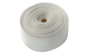 Nastro in poliestere Bianco L. 200 mm Rotolo da 50mt #OS0640203