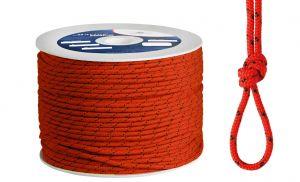 Polypropylene braide Ø 3mm Red 500mt spool #OS0642003RO
