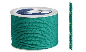 Polypropylene braide Ø 3mm Green 500mt spool  #OS0642003VE