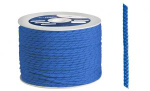 Polypropylene braid Ø 5mm Blue 200mt spool #OS0642005BL