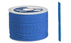 Polypropylene braid Ø 6mm Blue 200mt spool #OS0642006BL
