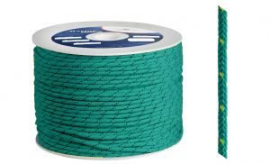 Polypropylene braid Ø 6mm Green 200mt spool #OS0642006VE
