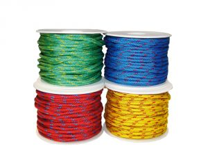Polypropylene braid Ø 4mm Red 12mt spool #N10600319140RO
