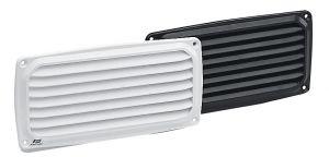 White plastic louvre air vent 200X100mm #FNIP17657