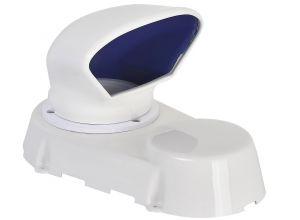 Blue PVC Dorade Box 205x200x5mm #FNIP16933