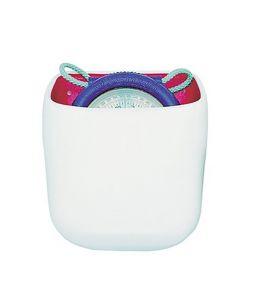 Contenitore in PVC bianco per bussola modello IRIS 50 #FNIP17244