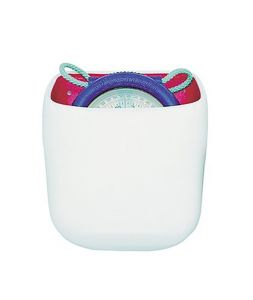 White PVC holder for IRIS 50 compass #FNIP17244