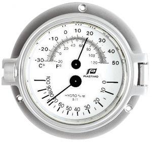 Plastimo Termoigrometro Temperatura e Umidità Ø120mm #FNIP35885