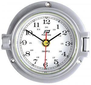 Plastimo chrome plated aluminium clock Ø120mm #FNIP35886