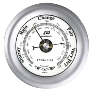 Plastimo Chrome plated brass Barometer Ø 130mm #FNIP38211
