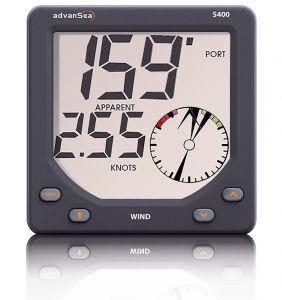 Digital Wind Display S400 12V 25mt Cable Wind Sensor #FNIP57751