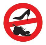 No shoes sticker D.135mm #N31812621803