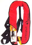 Sigma CE 150N Self inflating lifejacket with Nylon PVC hook #LZ71094
