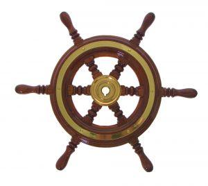 Mahogany Marine Steering Wheel/Helm Ø 490mm #FNI4345049