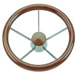 Teak Steering Wheel/Helm Ø 350mm #FNI4345135