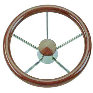 Teak Marine Steering Wheel/Helm Ø 400mm #FNI4345140