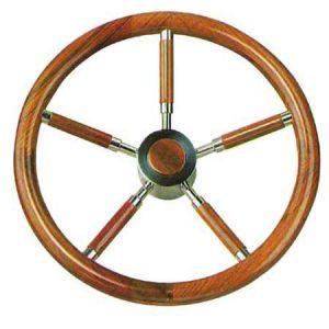 Teak Marine Steering Wheel/Helm Ø 400mm #FNI4345240
