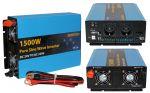 Eurteck Inverter Onda Sinusoidale Pura 1500W 3000W 24VDC-230V AC #ET22020933