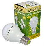 LED Bulb 5W 100-240V E27 Cold White 6000K-6500K 380lm Min 10Pcs #ET27561208-10