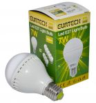 LED Bulb 7W 100-240V E27 Warm White 2700K-3000K 550Lm Min 10Pcs #ET27561211-10