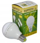 LED Bulb 7W DC100-240V E27 6000K-6500K 550Lm Min 10Pcs #ET27561212-10