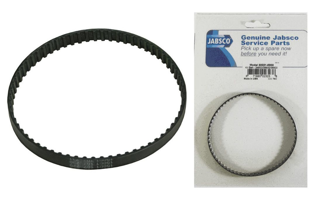 Replacement Toothed Belt 30021-0000  for JABSCO Water Pressure Pump