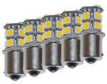 Kit da 5 Lampadine LED 2.1W 10-15V 3000K Bianca Calda BA15S 13SMD #ET27563103X5
