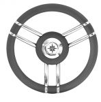 T27 Grey Marine Steering Wheel/Helm Ø 350mm #FNI4345446
