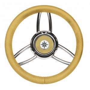 T26 Beige Marine Steering Wheel/Helm Ø 350mm #FNI4345448