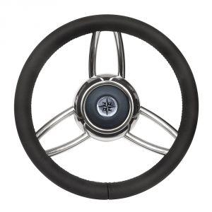 T26 Black Marine Steering Wheel/Helm #FNI4345451