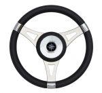 T29 Black Marine Steering Wheel/Helm Ø 350mm #FNI4345455