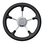Black Marine Steering Wheel/Helm Ø 400mm #FNI4345640