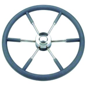 Grey Marine Steering Wheel/Helm Ø 550mm #FNI4345855