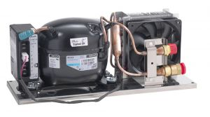 Unità refrigeranti COMPACTE VE 150 Completa 12/24/220V  275x220x58mm #FNI2424760