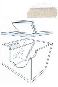 Kit 3 insulating panels 978x487mm #FNI2424790