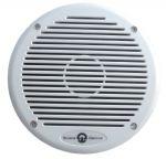 Pair white plastic marine waterproof speakers Impedance 4 ohm Max power 80W #FNI5555040