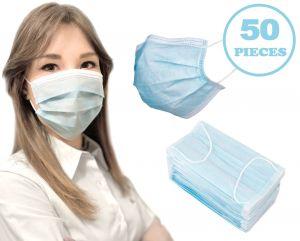 Simple 3-Layer TNT Disposable Civil Masks 50Pcs #N90056004609