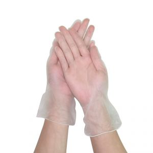 Guanti in PVC Trasparenti Senza polvere Monouso Taglia L 100Pz #N71547617575
